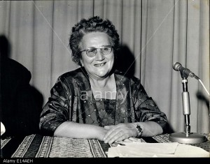 Apr. 17, 2012 - MME Marie Louise Monnet: First women invited to the Ecumenical Council.